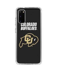 University of Colorado Buffaloes Galaxy S20 Clear Case