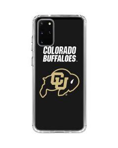 University of Colorado Buffaloes Galaxy S20 Plus Clear Case