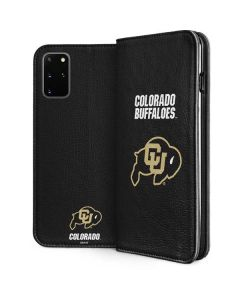 University of Colorado Buffaloes Galaxy S20 Plus Folio Case