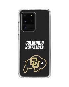 University of Colorado Buffaloes Galaxy S20 Ultra 5G Clear Case