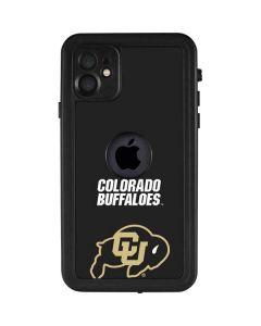 University of Colorado Buffaloes iPhone 11 Waterproof Case