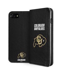 University of Colorado Buffaloes iPhone SE Folio Case