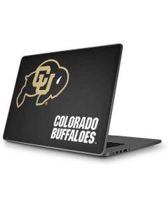 University of Colorado Buffaloes Apple MacBook Pro 17-inch Skin