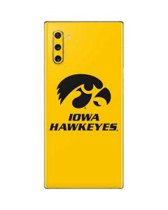 University of Iowa Galaxy Note 10 Skin
