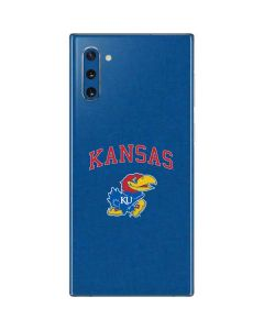 University of Kansas Galaxy Note 10 Skin