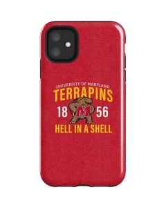University of Maryland Terrapins Hell In A Shell iPhone 11 Impact Case