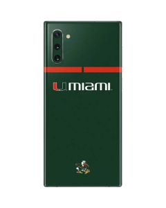 University of Miami Hurricanes Galaxy Note 10 Skin