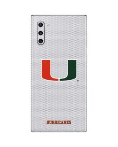 University of Miami Mesh Galaxy Note 10 Skin