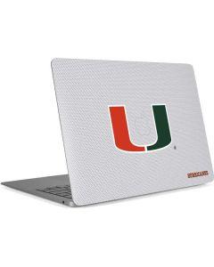 University of Miami Mesh Apple MacBook Air Skin