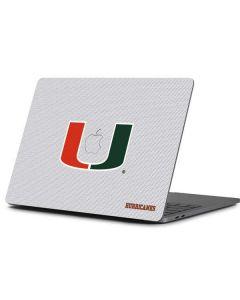 University of Miami Mesh Apple MacBook Pro 13-inch Skin