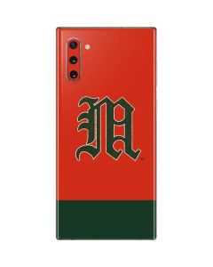 University of Miami Split Galaxy Note 10 Skin