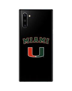 University of Miami The U Galaxy Note 10 Skin