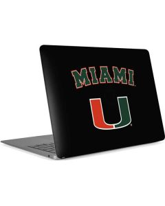 University of Miami The U Apple MacBook Air Skin