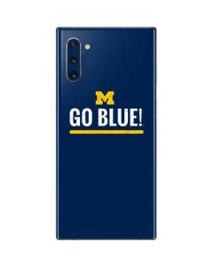 University of Michigan Go Blue Galaxy Note 10 Skin