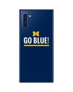 University of Michigan Go Blue Galaxy Note 10 Skin