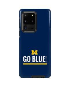 University of Michigan Go Blue Galaxy S20 Ultra 5G Pro Case