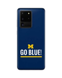 University of Michigan Go Blue Galaxy S20 Ultra 5G Skin