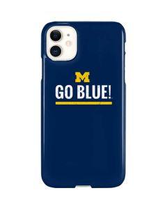 University of Michigan Go Blue iPhone 11 Lite Case