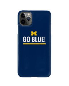 University of Michigan Go Blue iPhone 11 Pro Max Lite Case