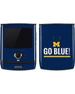 University of Michigan Go Blue Motorola RAZR Skin