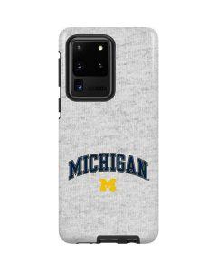 University of Michigan Heather Grey Galaxy S20 Ultra 5G Pro Case