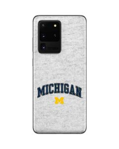 University of Michigan Heather Grey Galaxy S20 Ultra 5G Skin