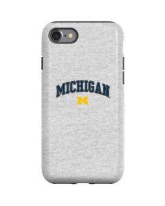 University of Michigan Heather Grey iPhone SE Pro Case