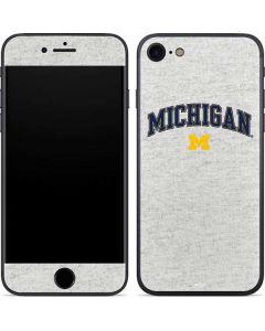 University of Michigan Heather Grey iPhone SE Skin