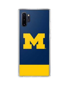 University of Michigan Logo Galaxy Note 10 Plus Clear Case