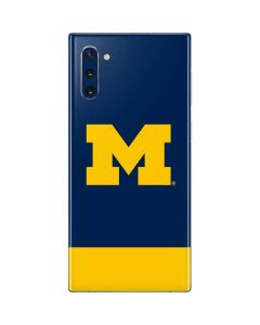 University of Michigan Logo Galaxy Note 10 Skin