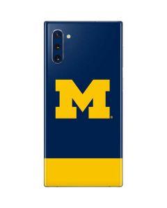 University of Michigan Logo Galaxy Note 10 Skin