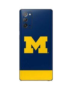 University of Michigan Logo Galaxy Note20 5G Skin