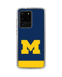 University of Michigan Logo Galaxy S20 Ultra 5G Clear Case