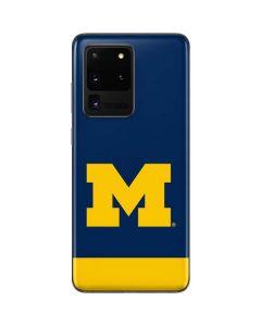 University of Michigan Logo Galaxy S20 Ultra 5G Skin