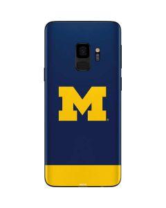 University of Michigan Logo Galaxy S9 Skin
