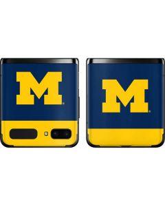 University of Michigan Logo Galaxy Z Flip Skin