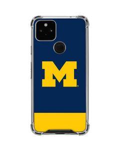 University of Michigan Logo Google Pixel 4a 5G Clear Case