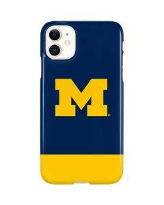 University of Michigan Logo iPhone 11 Lite Case