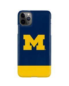 University of Michigan Logo iPhone 11 Pro Max Lite Case