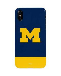 University of Michigan Logo iPhone XS Max Lite Case