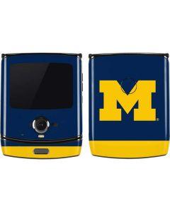 University of Michigan Logo Motorola RAZR Skin