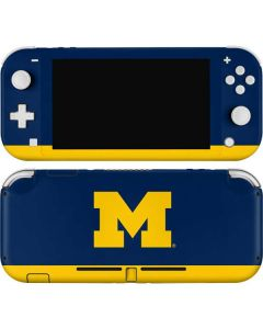 University of Michigan Logo Nintendo Switch Lite Skin