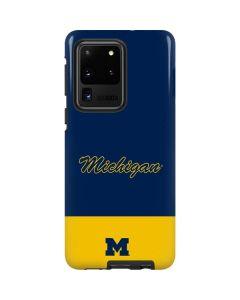 University of Michigan Split Galaxy S20 Ultra 5G Pro Case
