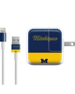 University of Michigan Split iPad Charger (10W USB) Skin