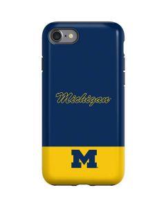 University of Michigan Split iPhone SE Pro Case