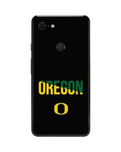 University of Oregon Bold Google Pixel 3 XL Skin