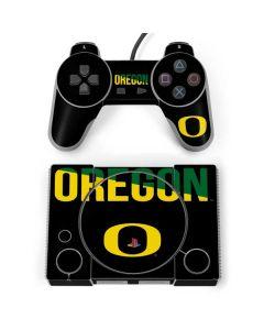 University of Oregon Bold PlayStation Classic Bundle Skin