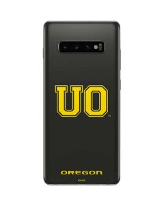 University of Oregon Fade Galaxy S10 Plus Skin
