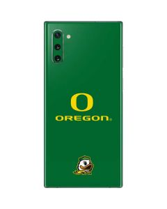 University of Oregon Galaxy Note 10 Skin