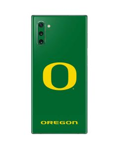 University of Oregon Mesh Galaxy Note 10 Skin